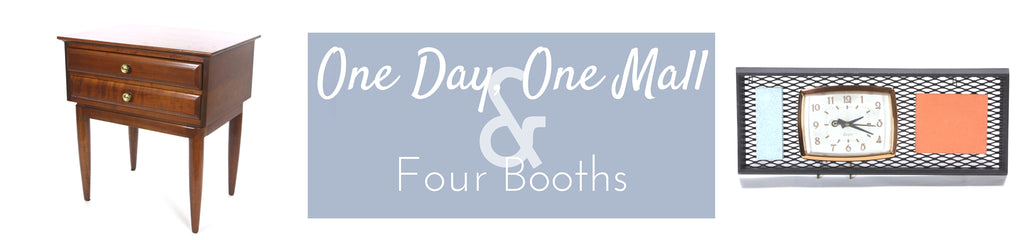 One Day, One Mall & Four Booths