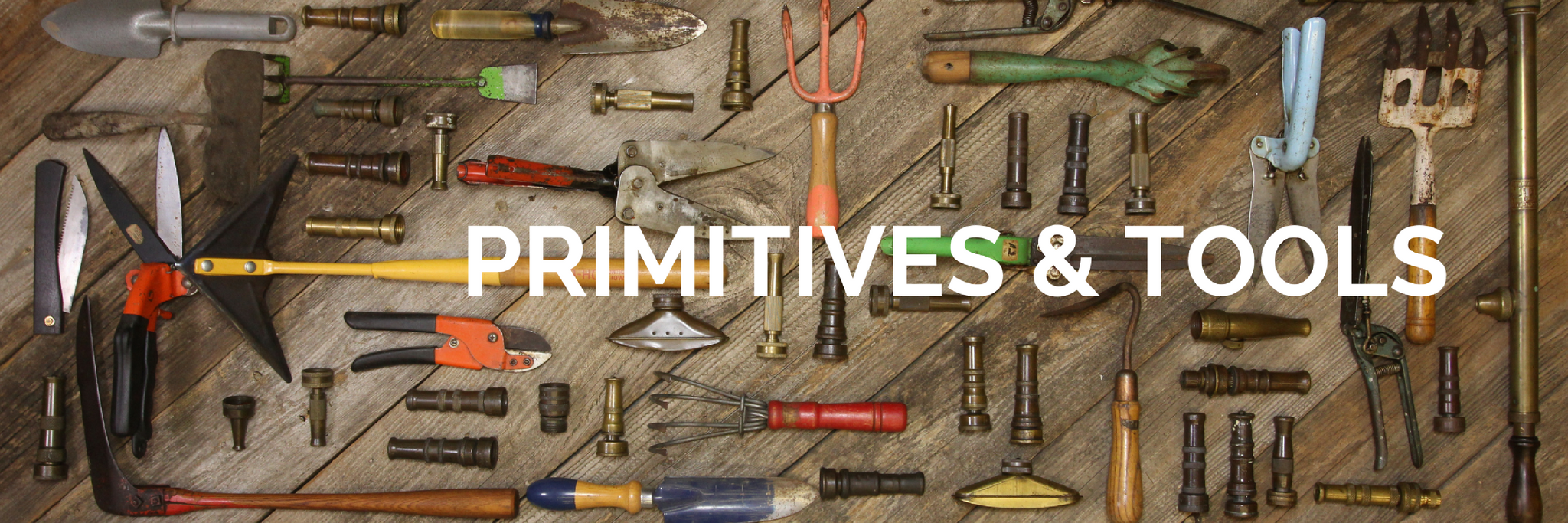 Collection of vintage and antique primitives and tools for sale