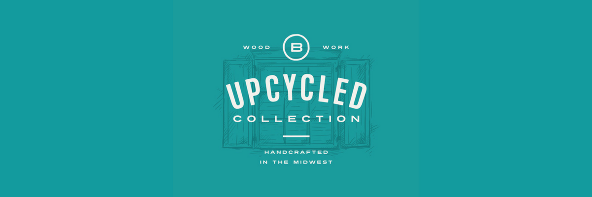 Upcycled Collection of vintage style handcrafted custom furniture for sale by Brassfield Originals