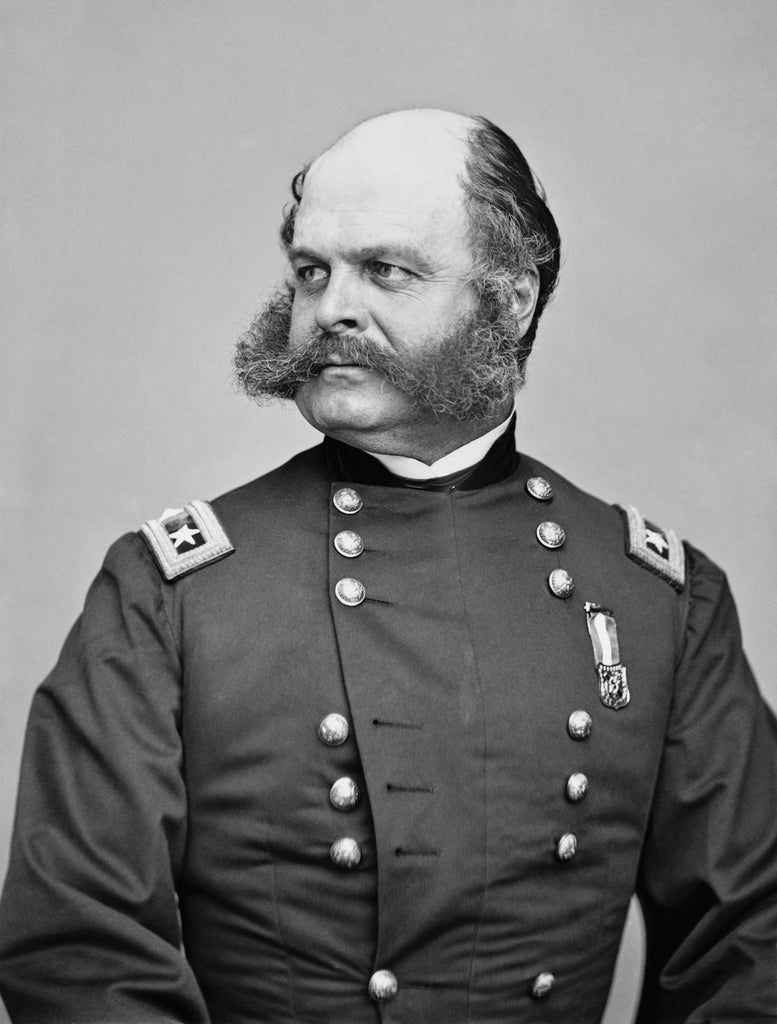 Civil War General Ambrose Burnside