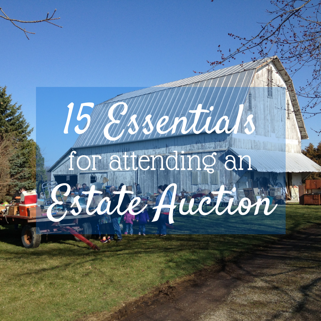 15 Essentials for Attending an Estate Auction