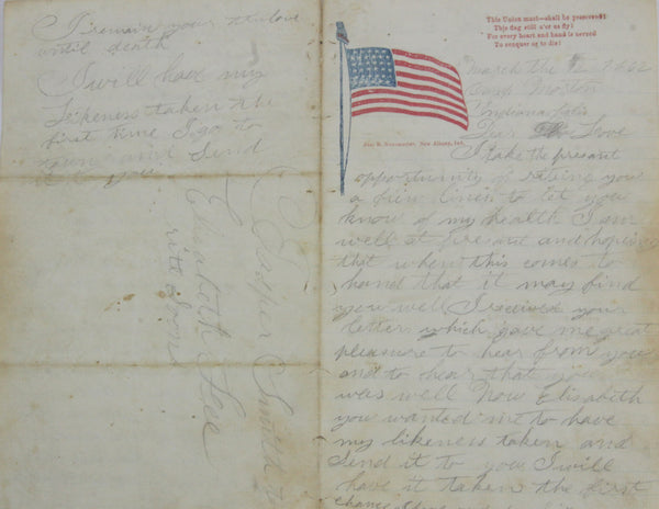 A Civil War Letter from our Collection