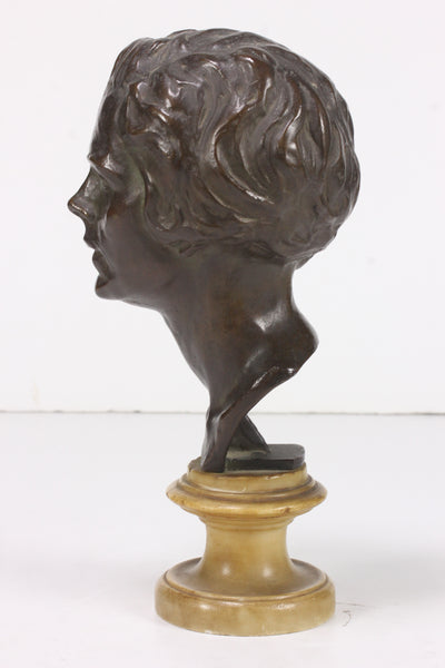 A bust of Miss Mildred Titcomb