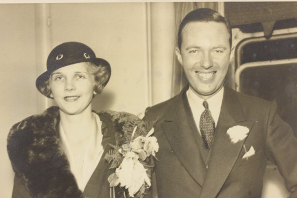 Mildred Titcomb and husband William M. Rains
