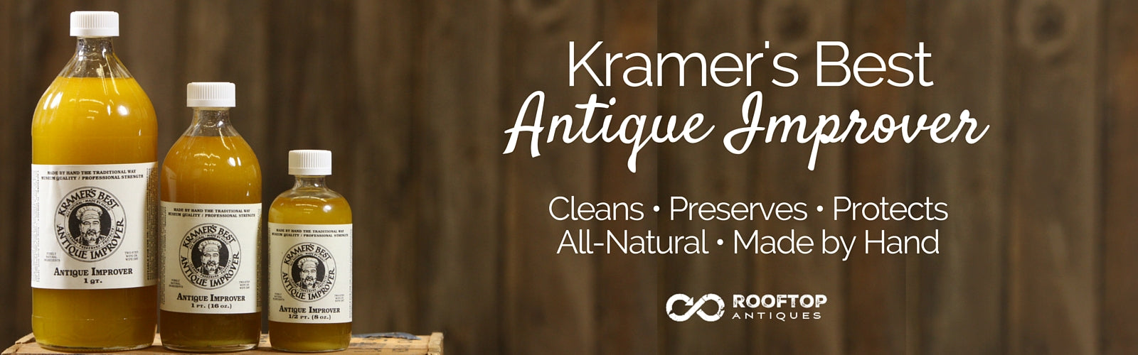 Kramer's Best Antique Improver with RoofTop Antiques