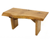 New Brassfield Originals Live Edge Custom Made Coffee Table Bench Oak