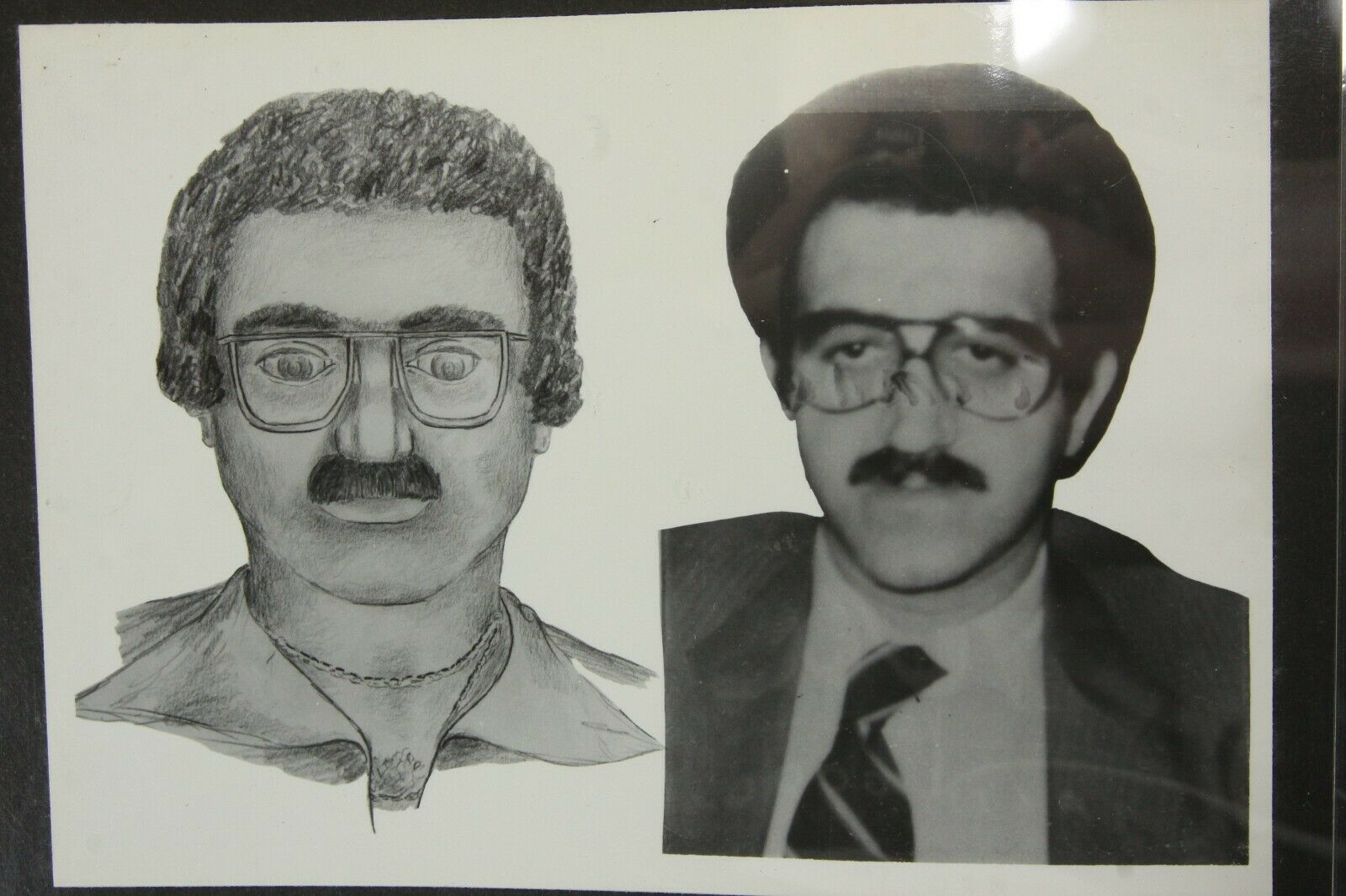 Collection Criminal Composite Sketches 1978 82 Police Department