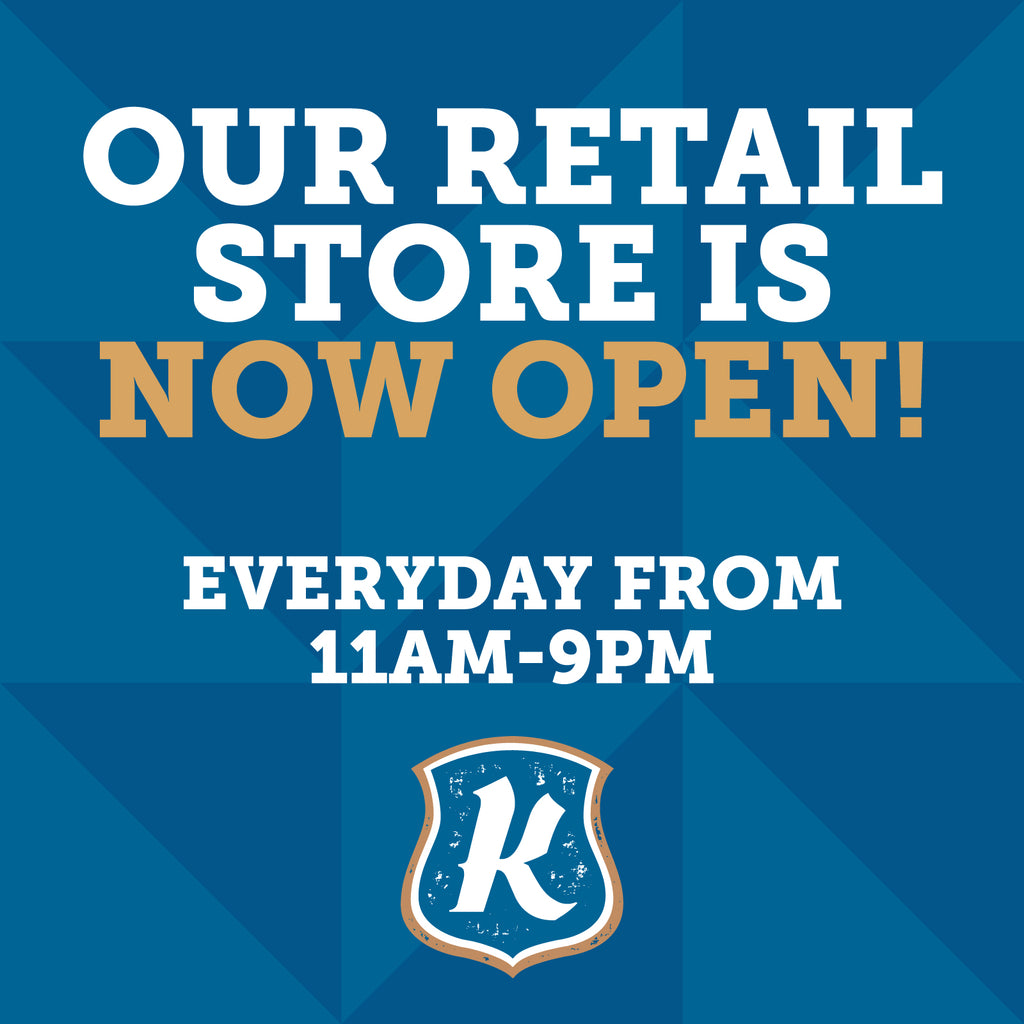 Retail Store is Open!!!