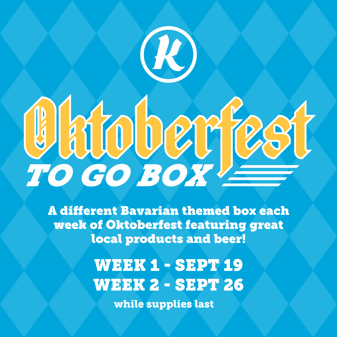 Oktoberfest To-Go Box - Week 2