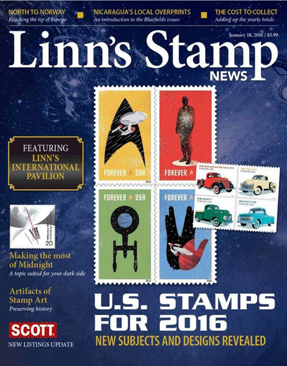 Linns Stamp News Weekly Magazine Subscription