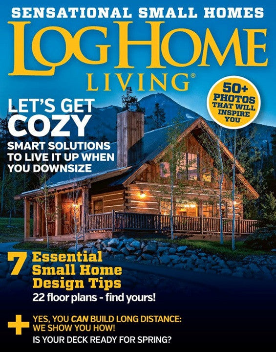 Merveilleux Log Home Living