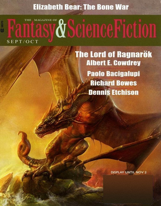 Fantasy Science Fiction Magazine Subscription