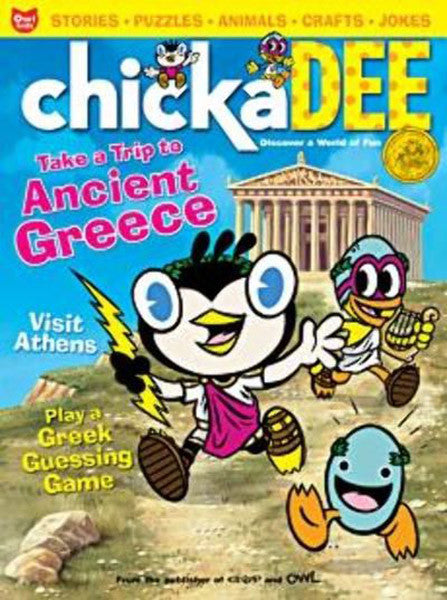 Chickadee Ages 6 to 9 Magazine Subscription