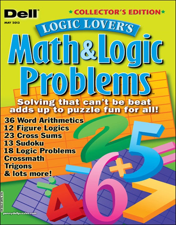 Dell Math Logic Problems Magazine Subscription