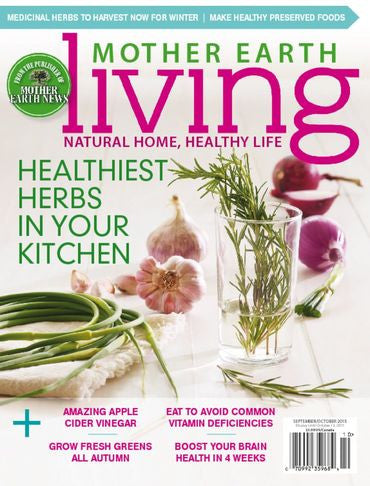 Mother Earth Living Magazine Subscription