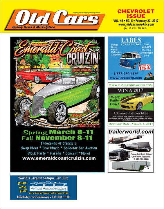 Old Cars Weekly Magazine Subscription
