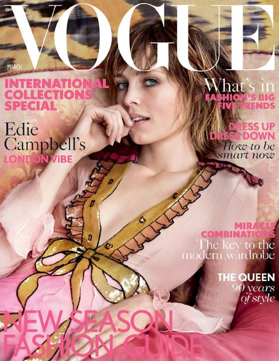 Vogue British Edition Magazine Subscription