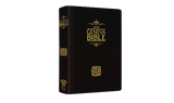 1599 Geneva Bible Bonded Leather Edition (black)