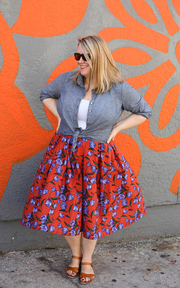 Transform the Upton Dress Into A Skirt