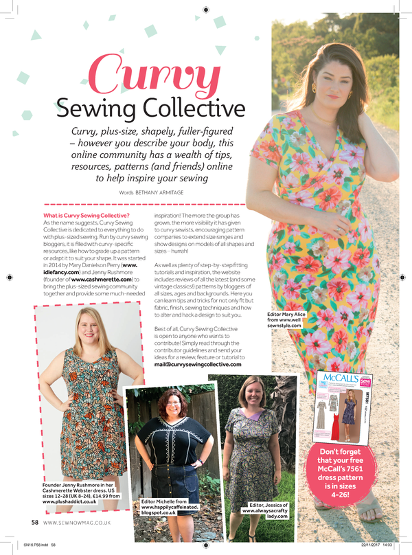 Press – Cashmerette Patterns