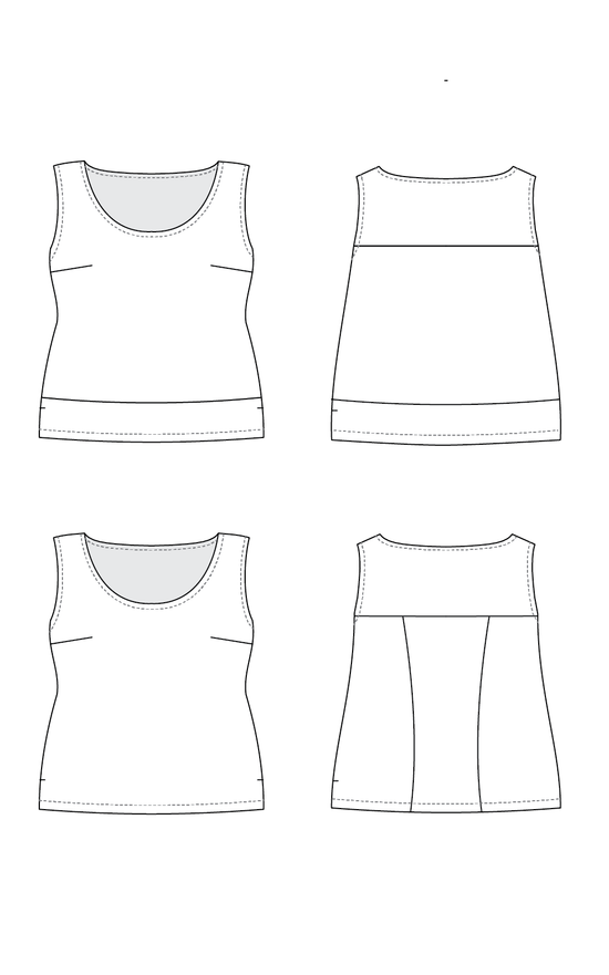 Springfield Top PDF pattern