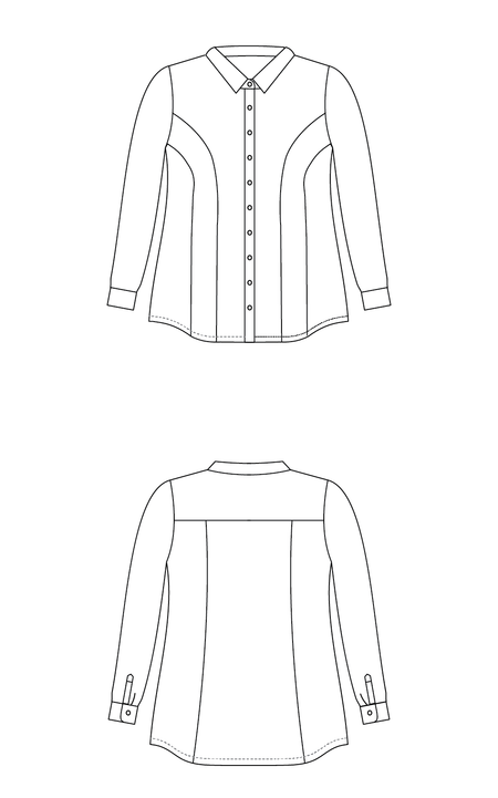 Harrison Shirt PDF pattern
