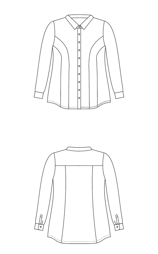 Harrison Shirt printed pattern
