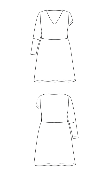 Turner Dress PDF pattern