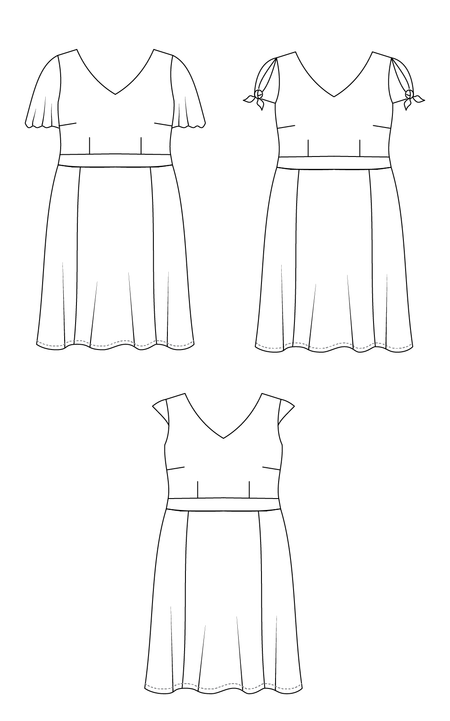 Upton Dress PDF Pattern + Sleeve Expansion
