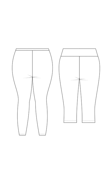 Belmont Leggings & Yoga Pants PDF pattern