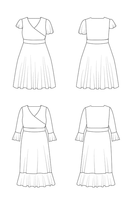 Alcott Dress PDF pattern