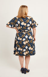 Alcott Dress printed pattern