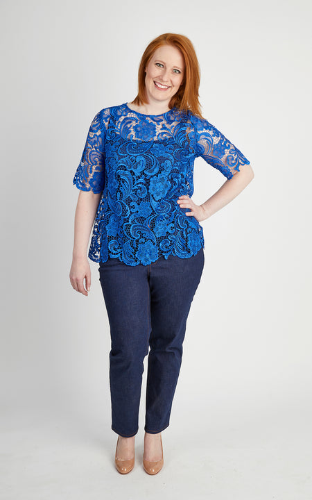 Montrose Top printed pattern