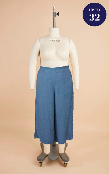 Calder Pants & Shorts Bundle: Pale Blue Tencel Twill Kit