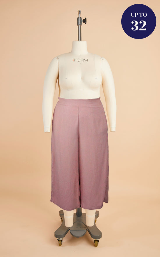 Calder Pants & Shorts Bundle: Dusty Pink Tencel Twill Kit