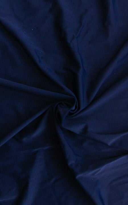 Pre-Cut Dark Navy Swim Fabric, 5/8 yd