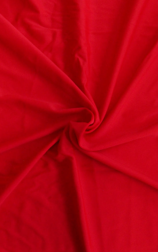 Pre-Cut Red Swim Fabric, 1/2 yd