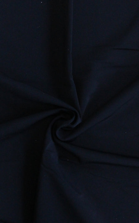 Pre-Cut Black Swim Fabric, Various Lengths