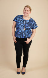 Cedar Dolman Top printed pattern