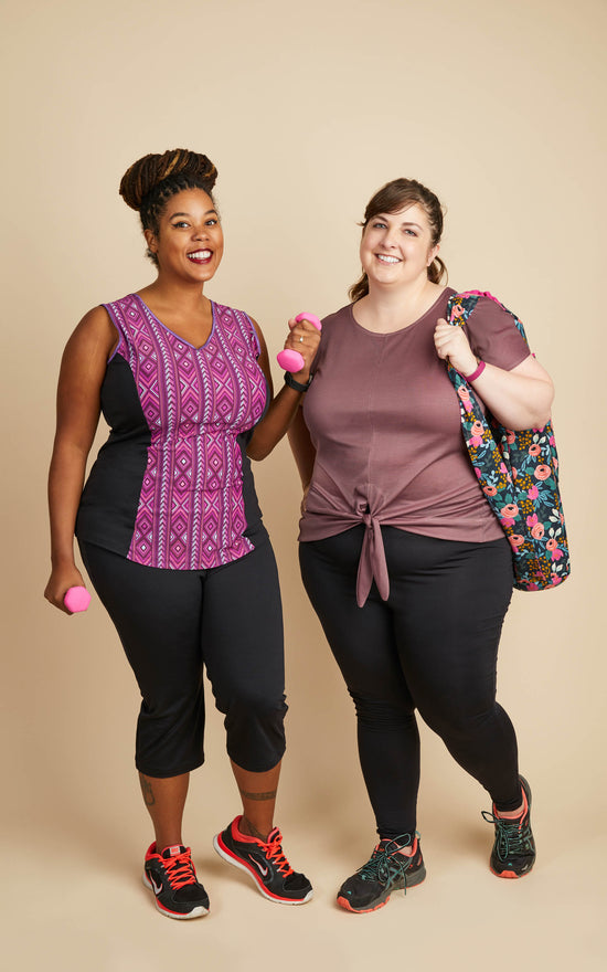 Workout Pattern Bundle : Belmont & Cedar PLUS free Shawmut Yoga Bag
