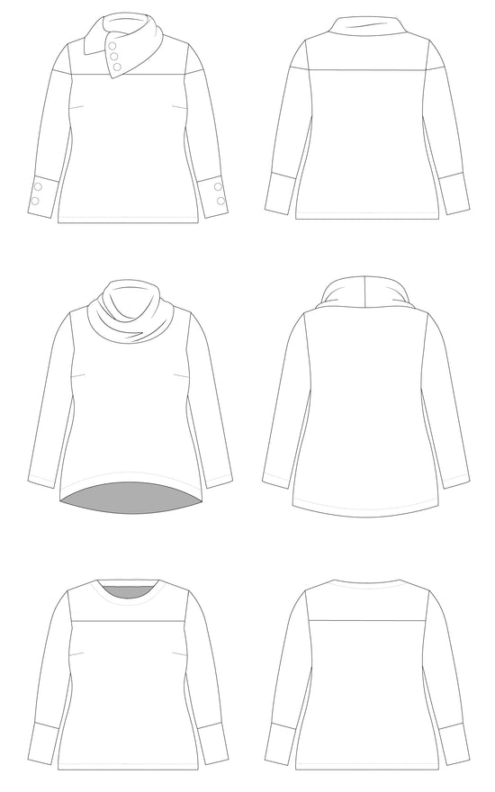 Tobin Sweater PDF pattern