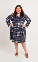 Turner Dress printed pattern