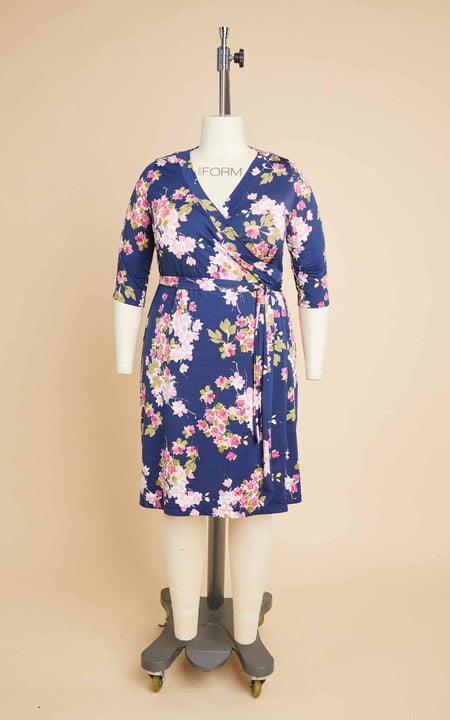 Appleton Dress Bundle: Floral Fabric Kit