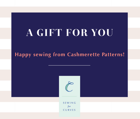 Cashmerette Patterns Gift Card