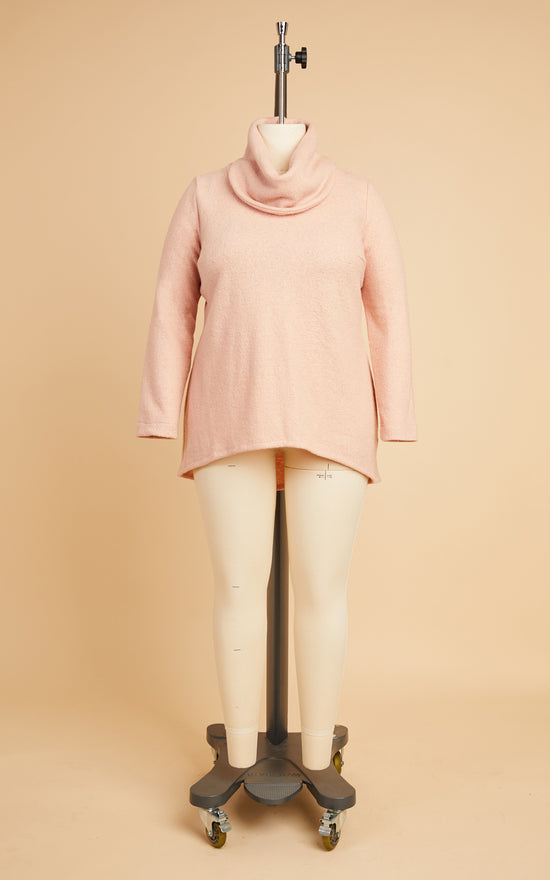 Tobin Sweater Bundle: Pale Pink Boiled Wool Blend Kit