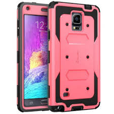 Armorbox Samsung Galaxy Note 4 Pink Case