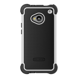 Ballistic HTC One M7 Tough Jacket Black/White Case