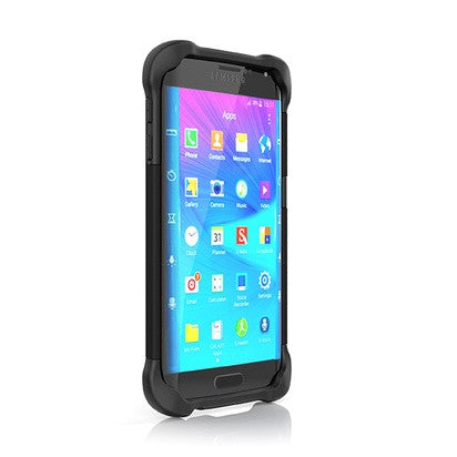 Ballistic Samsung Galaxy S6 Edge Tough Jacket Black Case