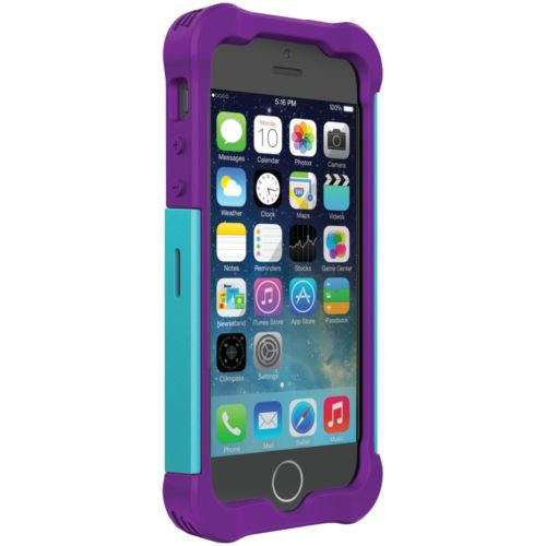 Ballistic iPhone 5/5s/5se Tough Jacket Teal/Purple Case