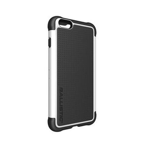 Ballistic iPhone 6+/6s+ Tough Jacket Black/White Case